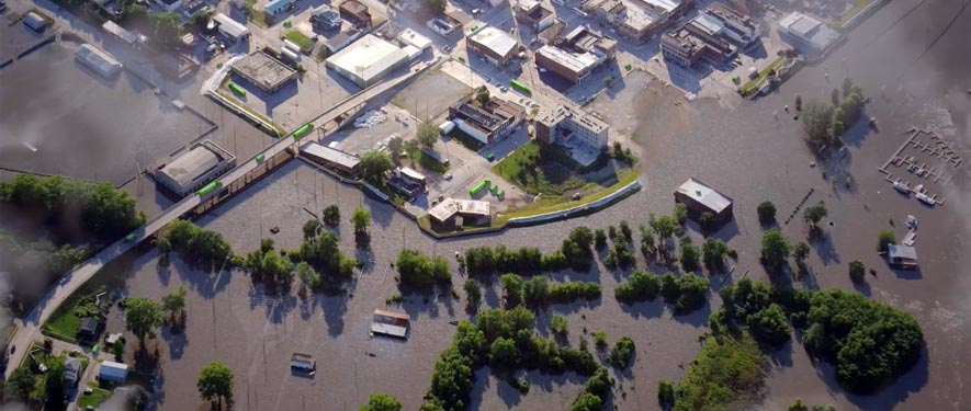 Evansville, IN commercial storm cleanup